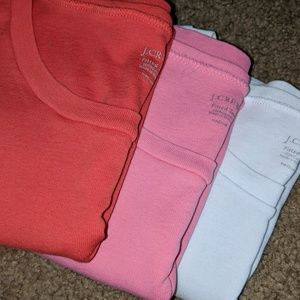 J. Crew fitted tees X3 👕👕👕
